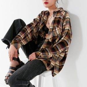 Urban Outfitters BDG Brendan Oversized Flannel
